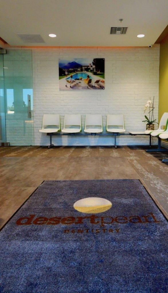 Desert Pearl Dentistry waiting area