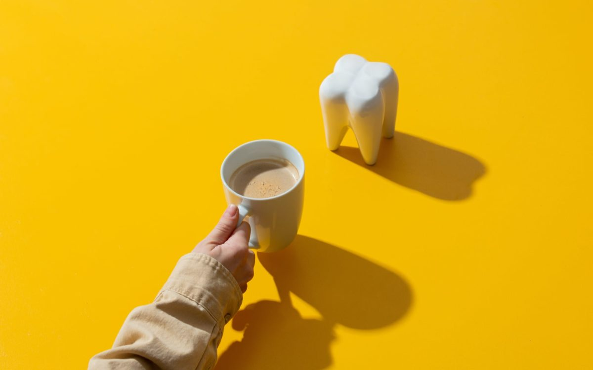 Coffee Cup and Tooth Model