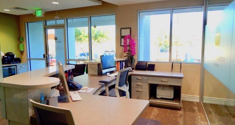 Desert Pearl Dentistry front desk area